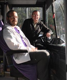 posádka autobusu