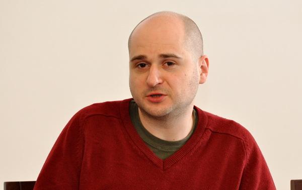 Ondřej Polanský v civilu