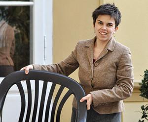 Olga na terase