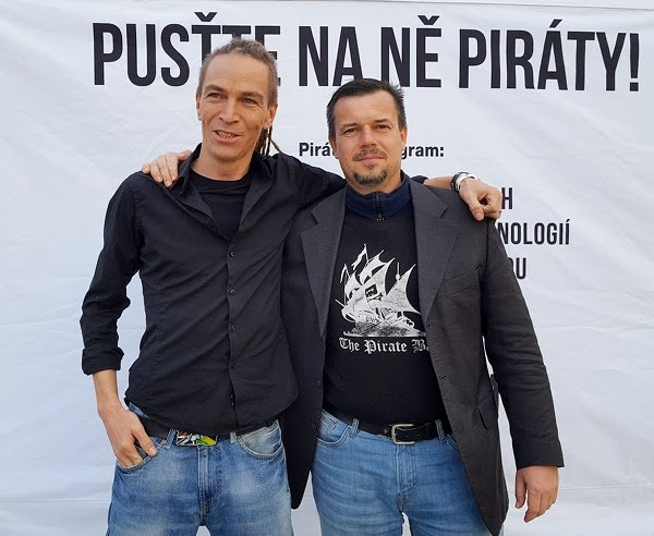 Ivan Bartoš a Jirka Kadeřávek